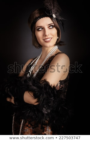 woman in Charleston costume Stock photo © photography33