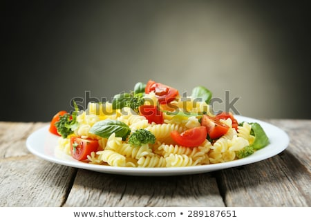 lasagne · spenót · brokkoli · tészta · olasz · étel · étel - stock fotó © m-studio