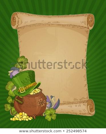 Photo stock: Résumé · jour · printemps · vert · amusement · couleur