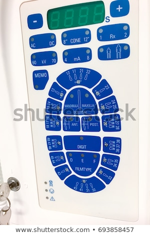 Dentales panel de control silla dentista Foto stock © Lighthunter