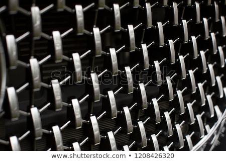 Reflective car grille Stock photo © Anterovium