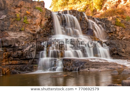 Shores of Lake Superior at Gooseberry State Park stock photo © wolterk