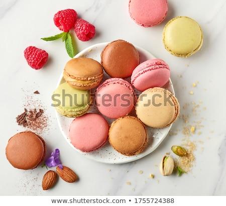 ízletes színes tányér kint sekély étel Stock fotó © photobac
