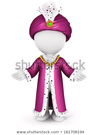 3d white people caliph stock photo © 3dmask