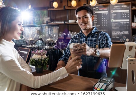 Serving Drinks Stock photo © kitch