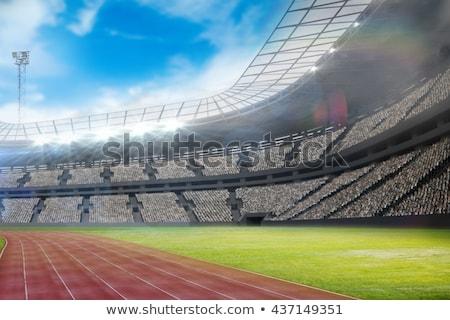 Olympic stadium Stock photo © gladiolus