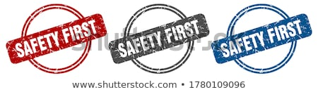 Stock fotó: Safety First Stamps