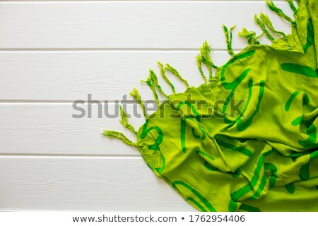 Relax spa woman lying on wooden chair Stock photo © CandyboxPhoto