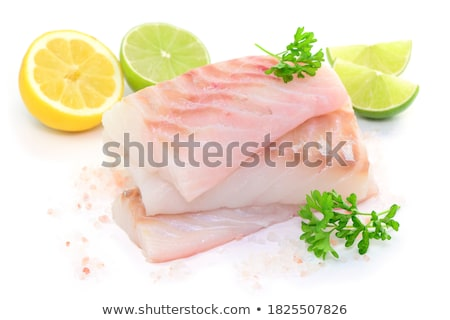 fresh raw fish Stock photo © M-studio
