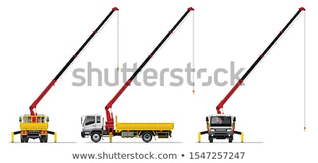 Truck Mounted Crane Stock photo © Supertrooper