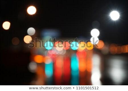 аннотация · стиль · пастельный · шоссе · фары · текстуры - Сток-фото © bubutu