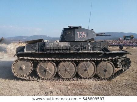 German Tank Stock photo © stevanovicigor
