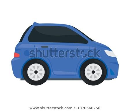 Szállítás jármű lila vektor ikon terv Stock fotó © rizwanali3d