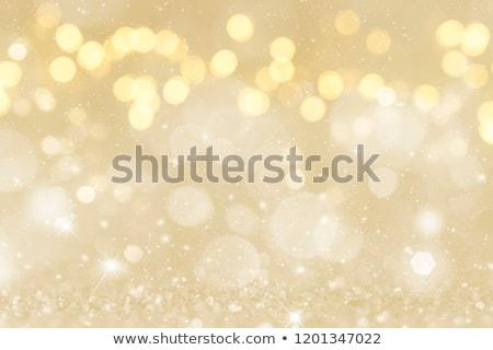 金 · ぼけ味 · パーティ · 雪 · 芸術 · 星 - ストックフォト © italianphoto