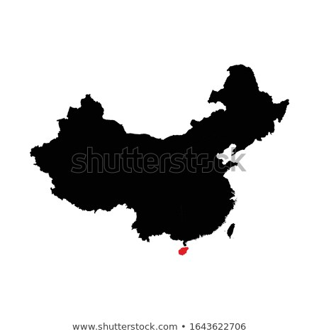 Map of People's Republic of China - Hainan province Stock photo © Istanbul2009