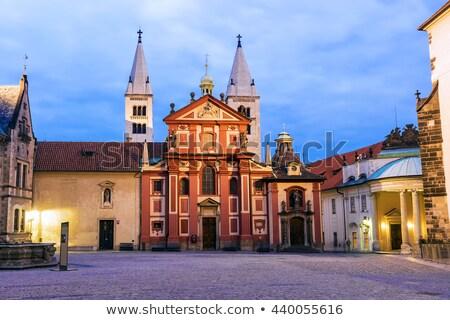 バシリカ プラハ 教会建築 城 教会 旅行 ストックフォト © CaptureLight