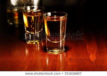 şişe · alkol · kırmızı · parti · cam - stok fotoğraf © dashapetrenko