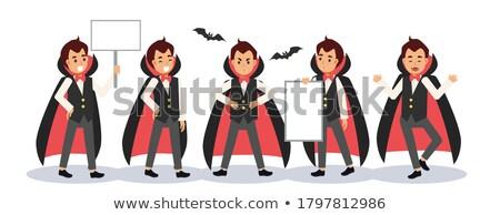little young vampire Stock photo © davisales