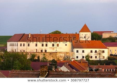 Kastély Csehország építészet kint kívül történelmi Stock fotó © phbcz