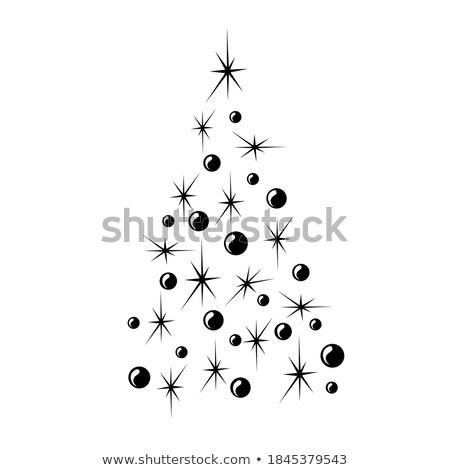 Stylized Christmas Balls, Background. EPS 8 Stock photo © beholdereye