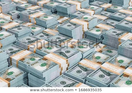 pénz · köteg · 100 · dollár · bankjegyek · fotó · ötletek - stock fotó © watsonimages
