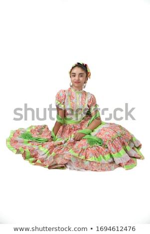 kadın · dans · jüri · tiyatro · genç · dansçı - stok fotoğraf © sapegina