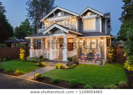A beautiful house Stock photo © bluering