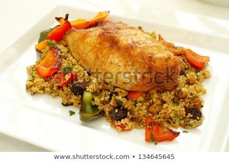 Pan cuscús marinado mama alimentos Foto stock © Digifoodstock