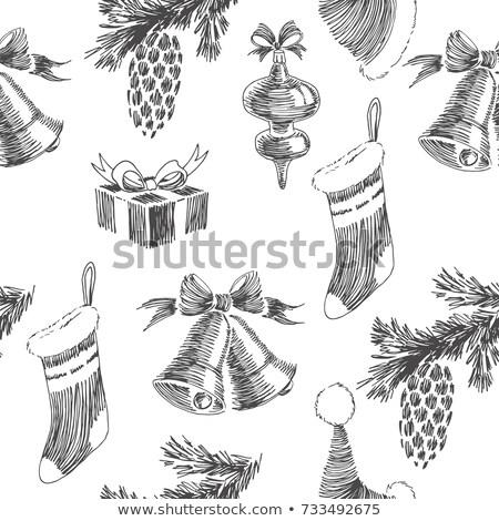 クリスマス · 鐘 · ビッグ · 黄色 - ストックフォト © carodi