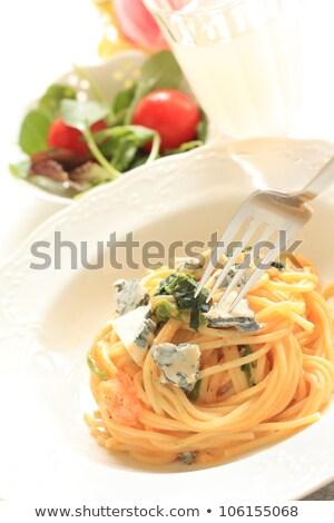 ıspanak · salata · yemek · fotoğraf · plaka - stok fotoğraf © stephaniefrey