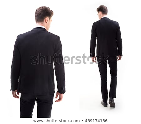 Man in suit from the back Stock photo © deandrobot