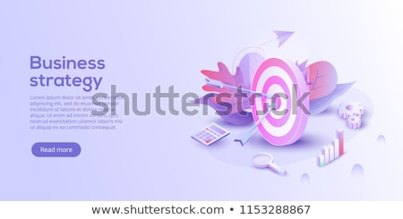 Target business illustration Stock photo © kali