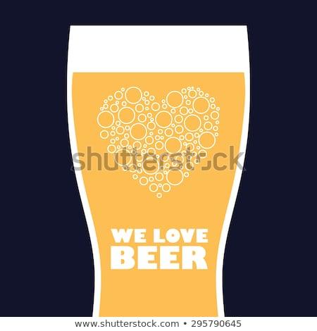 love brew stock photo © fisher
