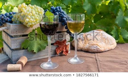 bor · üvegek · közelkép · izolált · fehér · üveg - stock fotó © simply