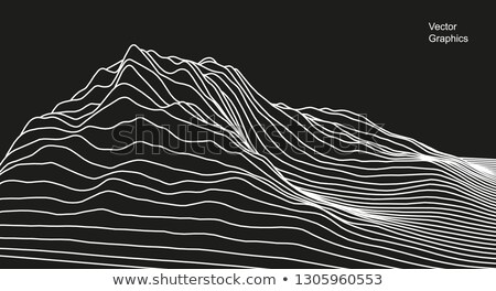 digital technology background made with lines mesh stock photo © sarts