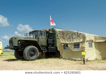 Сток-фото: Auto · больницу · автомобилей · армии · мобильных · грузовика