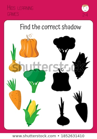 Find the right shade carrot Stock photo © Olena
