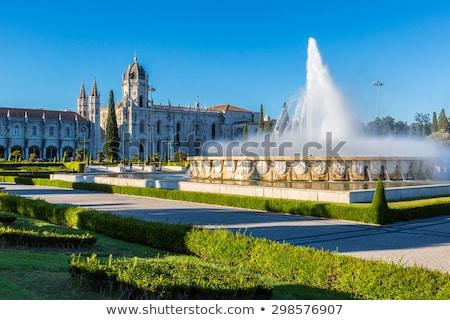 修道院 · 里斯本 · 著名 · 里程碑 · 葡萄牙 · 藍天 - 商業照片 © luissantos84