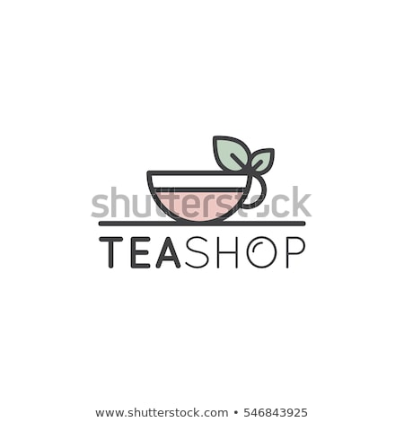 tea · ház · logo · szimbólum · bolt · elad - stock fotó © meisuseno