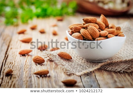 Organic almonds Stock photo © bdspn