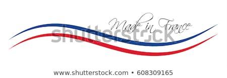 Francja · kolorowy · wektora · symbol · francuski · tricolor - zdjęcia stock © kurkalukas