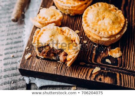 closeup meat pie Stock photo © inxti