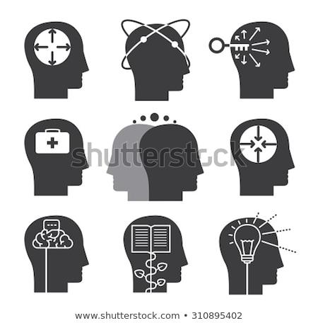 autizmus · puzzle · szimbólum · autista · gyermek · tudatosság - stock fotó © lightsource