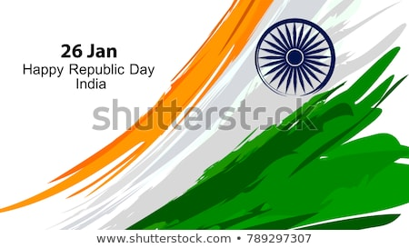happy republic day of india 26th january banner Stock photo © SArts