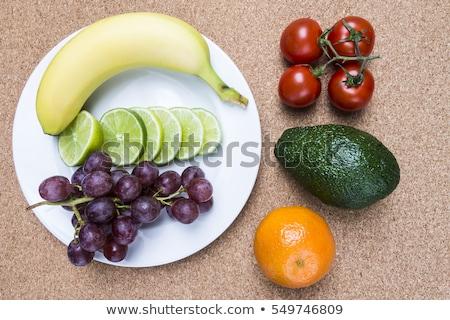 resim · birkaç · taze · bir · meyve · sebze - stok fotoğraf © homydesign