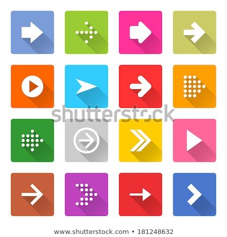 マゼンタ 三角形 ベクトル 実例 孤立した ストックフォト © cidepix