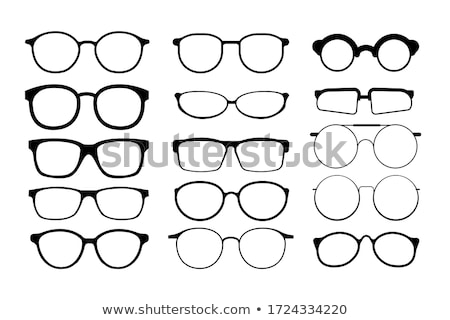 Glasses Set Vector. Modern And Vintage Eyewear Glasses. Vision Optical Icon. Classic And Hipster Tra Stock photo © pikepicture