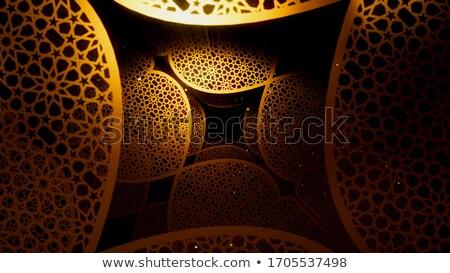 Renkli festival ışıklar dekoratif ramazan mutlu Stok fotoğraf © SArts