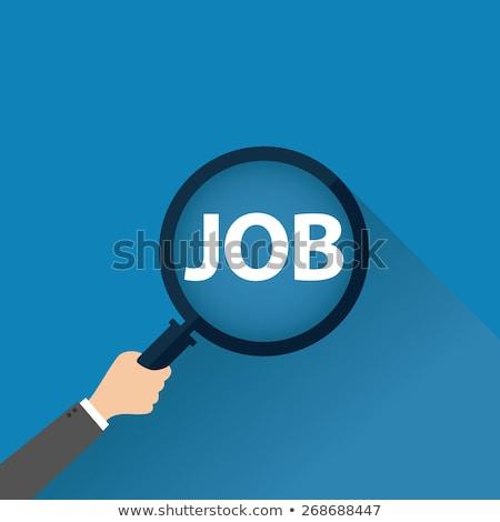 job search 3d template stockfoto © genestro