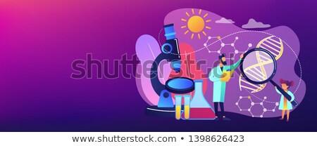 Science lessons concept vector illustration. Stock photo © RAStudio